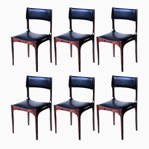 Stühle von Giuseppe Gibelli für Sormani, 1960er, 6er Set