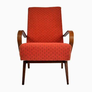 Bentwood Lounge Armchair from TON, 1960s