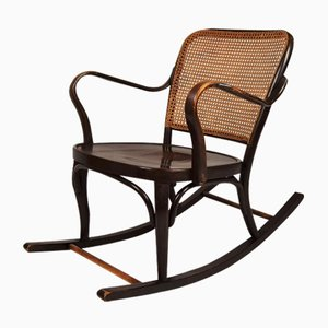 Rocking Chair A752 par Josef Frank pour Thonet, 1930s