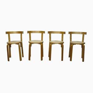 Chaises de Salon Vintage, Set de 4