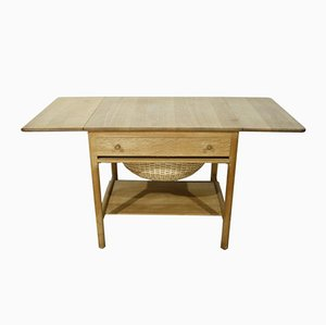 AT33/PP33 Sewing Table by Hans J. Wegner for PP Møbler, 1953