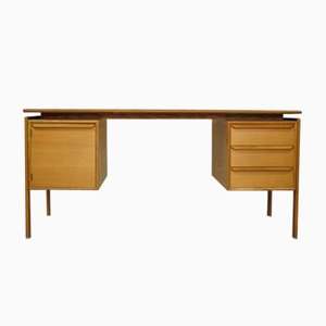 Oak Desk by GV Gasvig for GV Møbler, 1960s