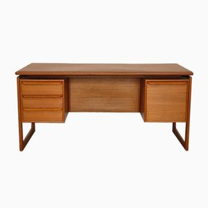 Teak Desk by GV Gasvig for GV Møbler, 1960s
