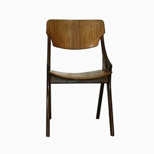 Teak Dining Chair by Arne Hovmand Olsen for Mogens Kold, 1960s