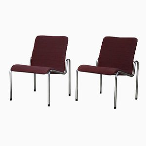 Model 703 Lounge Chairs by Kho Liang Ie for Stabin, 1960s, Set of 2