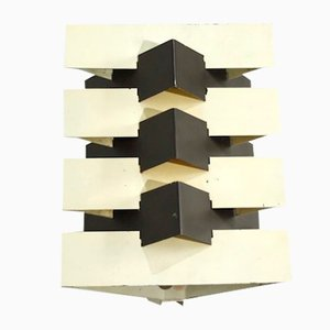 Model 7092 Geometric Wall Light by J.J.M. Hoogervorst for Anvia, 1960s