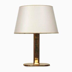 Lampada da tavolo in ottone di Staff Leuchten, anni '70