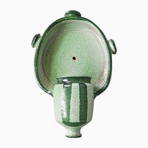 French Ceramic Wall Lamp by Boleslaw Danikowski, 1950s