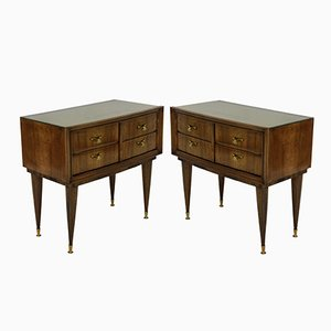 Night Stands, 1950s, Set of 2
