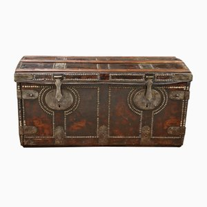 Antique Leather Chest
