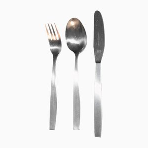 Model 2050 Silverware by Helmut Alder for Amboss, 1954, Set of 6