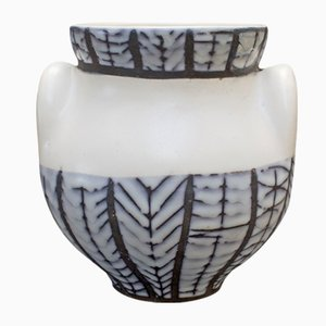 Ceramic Eared Vase by Roger Capron, 1950s