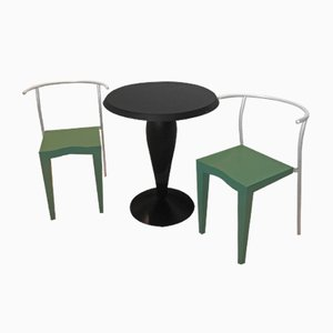 Vintage Dining Set by Philippe Starck for Kartell, 1980s
