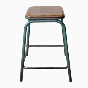 Vintage Industrial Stool by Gaston Cavaillon for Mullca, 1960s