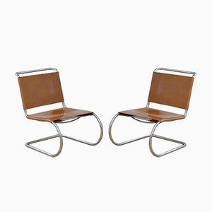 Chaises MR 30 par Ludwig Mies Van De Rohe, 1930s, Set de 2