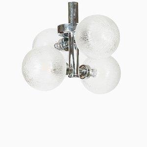 Lámpara de techo vintage de cromo