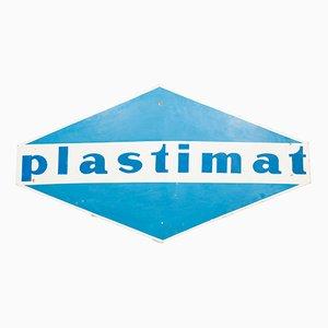 Panneau Plastimat Vintage en Métal