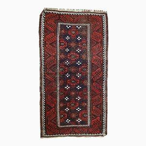 Alfombra Baluch afgana vintage hecha a mano, años 20