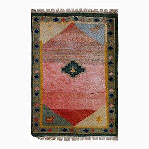 Alfombra de Oriente Medio vintage, años 60