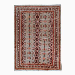 Vintage Handmade Uzbek Bukhara Rug, 1960s
