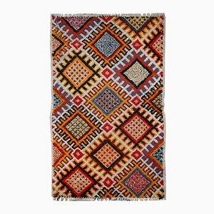 Alfombra marroquí bereber vintage hecha a mano, años 60