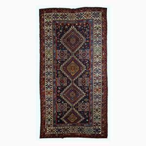 Antique Handmade Caucasian Shirvan Rug, 1890s