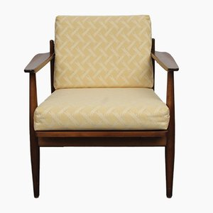 Yellow Padded Armchair, 1960s