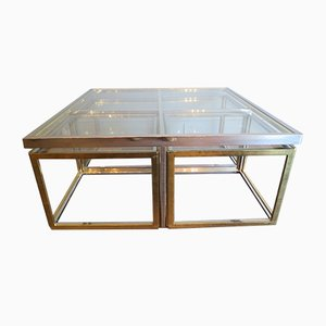 Square Coffee Table by Jean Charles, 1970s