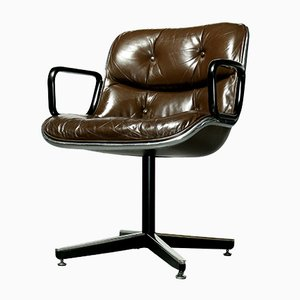 Executive Chair by Charles Pollock for Knoll International, 1960s