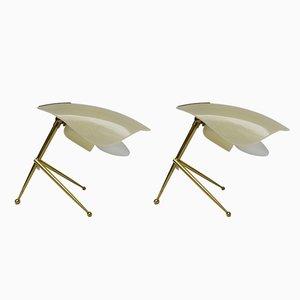 Lampade da tavolo, Italia, anni '50, set di 2