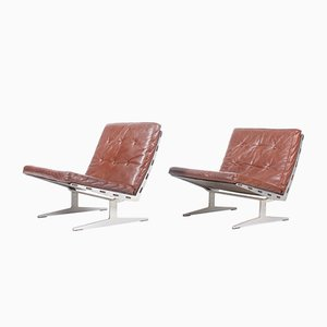 Lounge Chairs by Paul Leidersdorff, 1960s, Set of 2