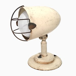 Industrielle Vintage Loft Tischlampe, 1960er