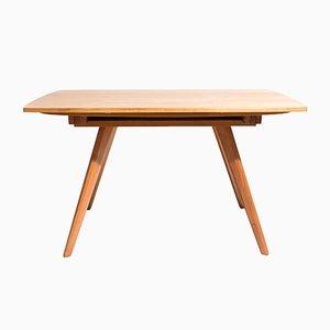 Ausziehbarer Zwei-Form-Tisch von Jacob Müller für Wohnhilfe, 1950er