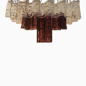Italian Murano Glass Chandelier from Mazzega, 1960s