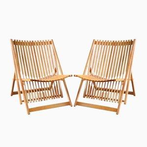 Modell A1 Sessel von Jean-Claude Duboys für Attitude, 1980er, 2er Set