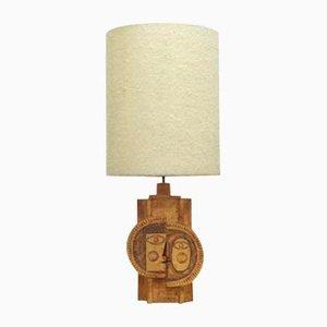 Lampes de Bureau en Céramique par Roger Capron & Jean Derval, 1969