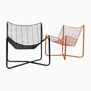 Chaises Longues Jarpen par Niels Gammelgaard pour Ikea, 1980s, Set de 2