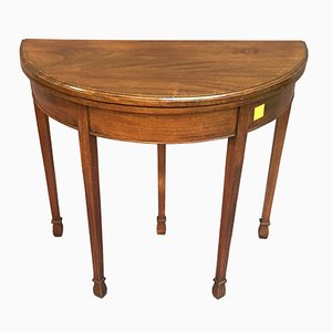 Vintage Mahogany Game Table, 1930s