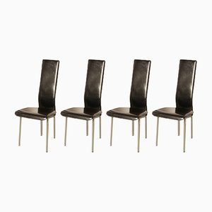 S-44 Chairs by Giancarlo Vegni for Fasem, 1986, Set of 4
