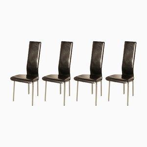 S-44 Stühle von Giancarlo Vegni für Fasem, 1986, 4er Set