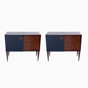 Sideboard with Sliding Doors by F.Lli Proserpio, 1960s