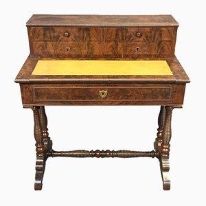 Antiker französischer Schreibtisch aus Mahagoni