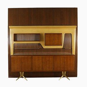 Système de Rangement Vintage en Acajou par Gambarelli, 1958