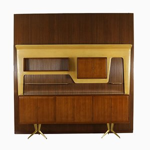 Vintage Mahogany Storage Unit by Gambarelli, 1958