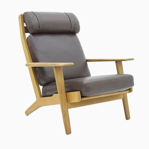 GE 290 Lounge Chair by Hans J. Wegner for Getama, 1960s