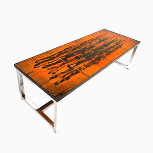 Vintage Ceramic Coffee Table, 1960s