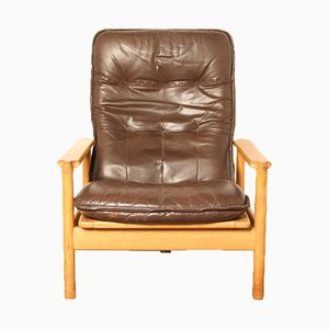 Dänischer Sessel aus Eiche, 1960er