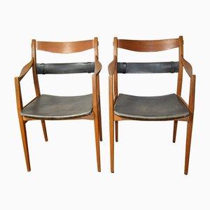 Butacas de Yngve Ekström para Swedese, años 60. Juego de 2