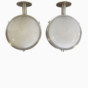 Ceiling Lights by Sergio Mazza for Artemide, Set of 2