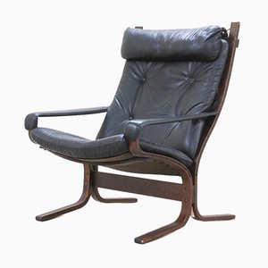 Vintage Siesta Model 303 Lounge Chair by Ingmar Relling for Westnofa